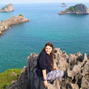 Carolina en Monkey Island