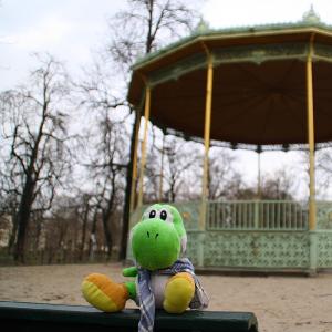 Yoshi en Bruselas