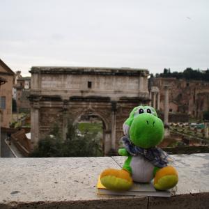 Yoshi en Roma