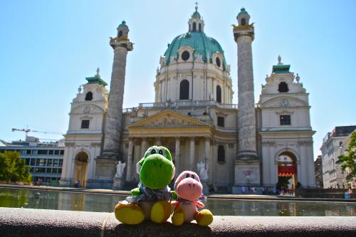 Yoshis en Karlskirche