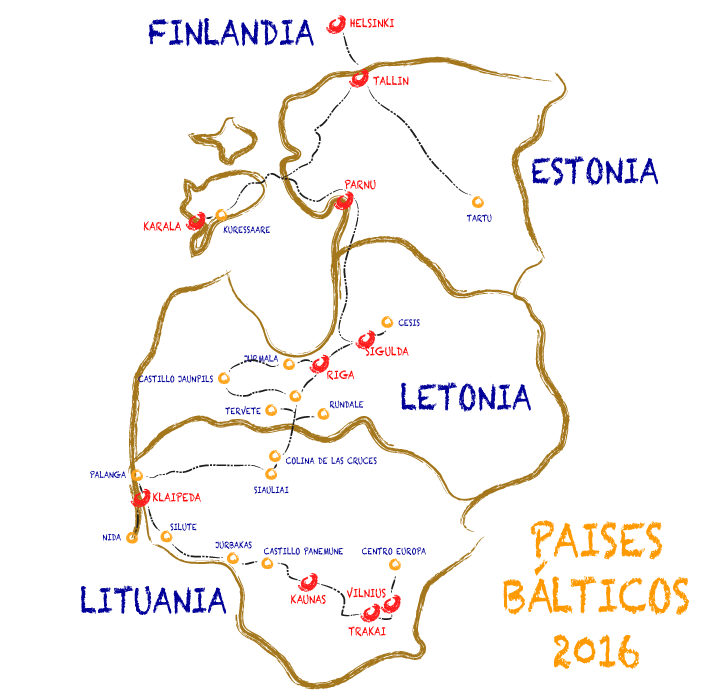 Paises Balticos 2016