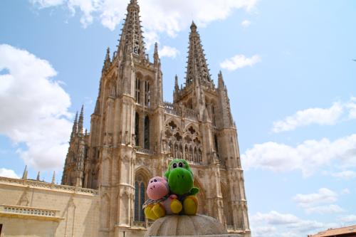 Los Yoshis en la Catedral de Burgos