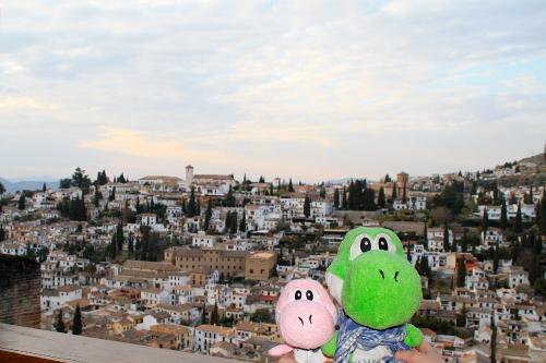 Yoshis desde la Alhambra