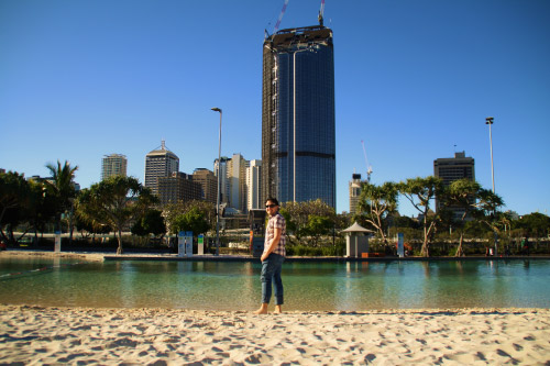 Playa de Brisbane South Bank