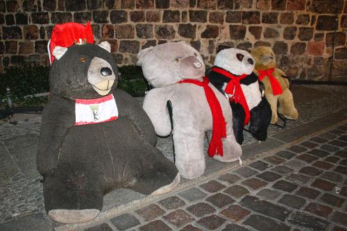 Osos en mercado navidad berlin