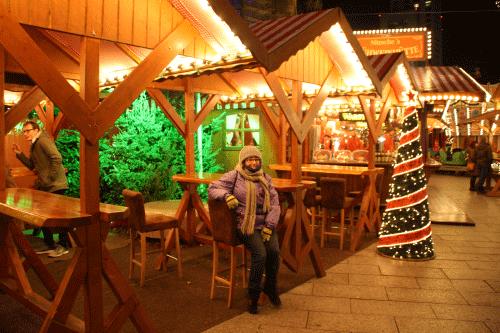 Mercado cerca de Kurfurstendam