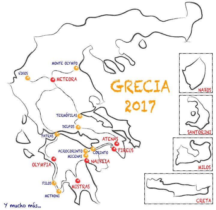 Grecia en 3 semanas