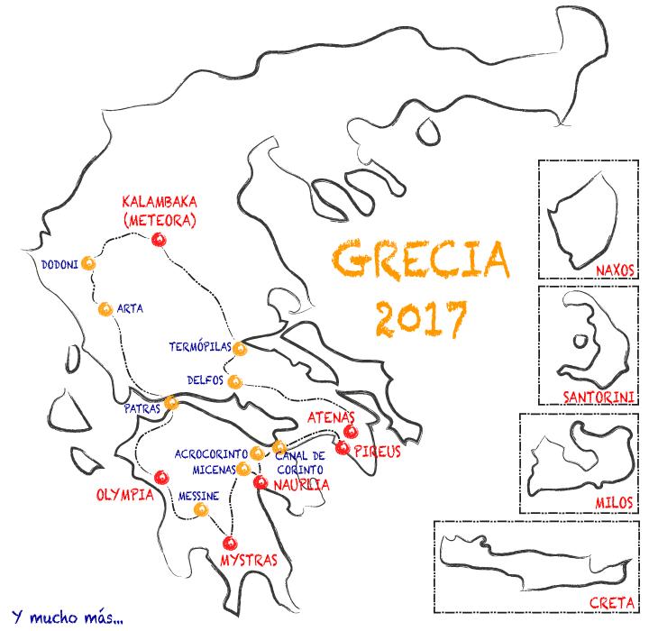 Tres semanas en Grecia
